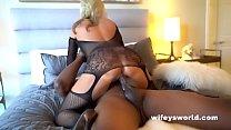 Big Tits MILF Bangs BBC And Swallows His Load