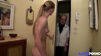 Sexy naughty Kelly gets fucked by her new roommates