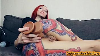 Intimate snap video for anal fan gape Telari Love