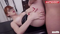 LETSDOEIT - #Anny Aurora #Jason Steel - Sex Interview With A Big Ass Teen Babe And A Perv Boss