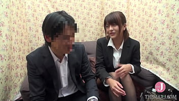 Can male and female friends and colleagues have sex? ~ Drooping eye apparel public relations Shoko 24 years old ~ [PTS-387]