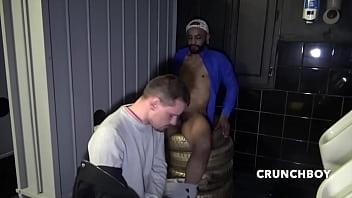 MAX french slut holte breed by arab PISS TAHAR in public toilets IDM SAUNA Fro CRUNCHBOY