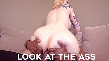 bimbo bambi tranny gets her booty stuffed with a fat bbc