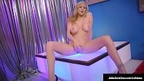 Stripper Mom?! Big Tits Cougar Julia Ann Finger Fucks After Stripping!