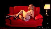Gorgeous MILF Goddess Julia Ann Shows Off Her Big Boobs In Hot Solo!