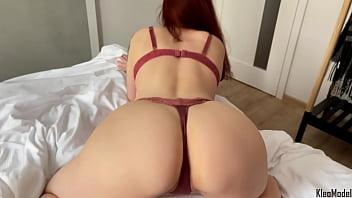 Amateur sucking cock and intense doggystyle sex. Big ass Kleomodel