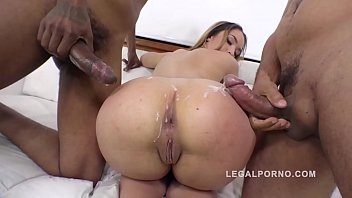 Sexy Russians Aletta Black & Alexa Flexy Can't Get Enough Anal Action