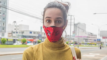 VENOZALAN MODEL tricked for a photo shoot (TREND IN PERU)