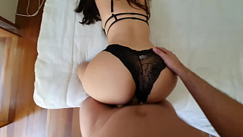 I fuck my horny cousin and cum in her lingerie - FunnyCouple98