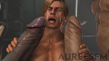Leon x Pyramid Head x Mr. X - Resident Evil SFM