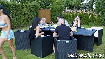 MARISKAX Naughty foursome with Nelly Kent and Tanya Virago