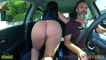 Going to meet a brand new girl and getting ready in Binho Ted's car