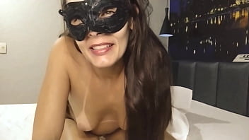 Punched the dick in my ass and vibrator in the pussy / I want DP with two males, come and eat my ass and my pussy together with my husband!