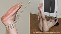 Foot punishment.