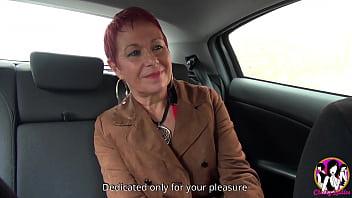 Stunning mature Christine realizes a fantasy...