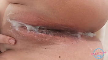 POV He cums in his sister's pussy