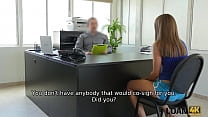 LOAN4K. Teen girl problem can be fixed if she has sex at the bank