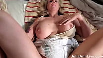 Sexperienced Busty MILF Julia Ann Wants Cum Inside Her Mature Pussy!