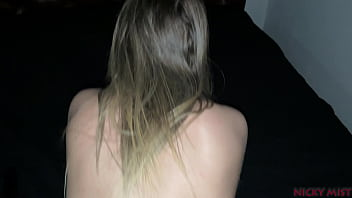 Blonde babe Nicky Mist get pain anal fucking