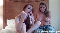Heather and Shea encouraging you to cum JOI